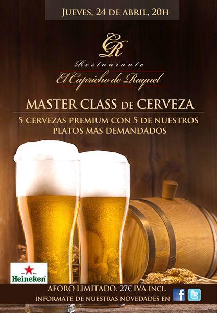 master class cerveza